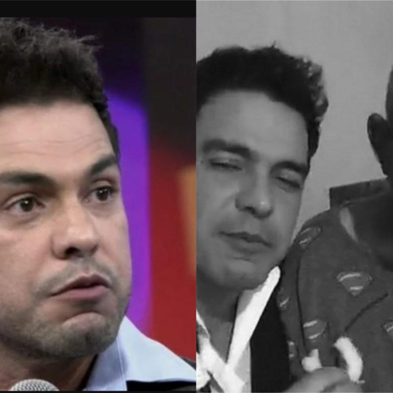 Zezé di Camargo e seu pai Francisco Camargo (Foto: Divulgação / Famosos Online)