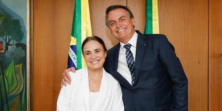 Regina Duarte deixou o governo Bolsonaro (Foto: Reprodução)