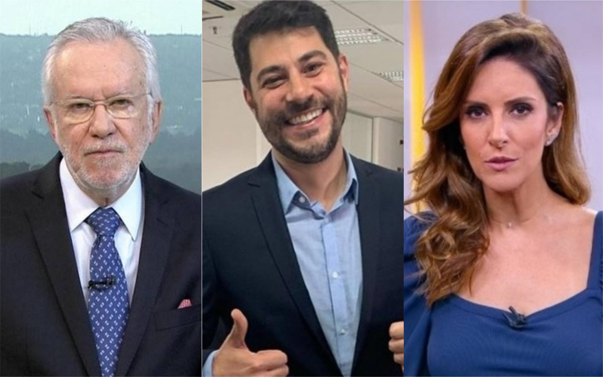 CNN Brasil tem recrutado time de peso para concorrer com a Globo (Foto: Divulgação / Montagem: TV e Famosos Online)