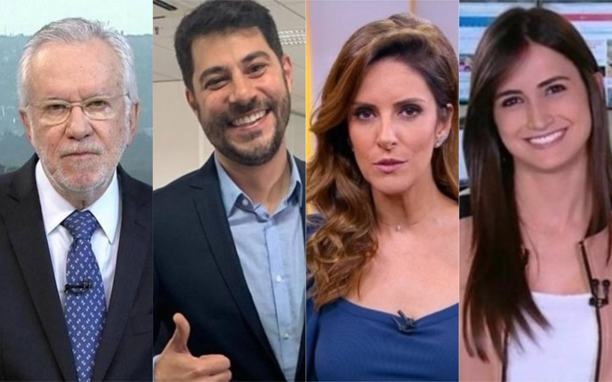 CNN Brasil tem recrutado time de peso (Foto: Divulgação / Montagem: TV e Famosos Online)