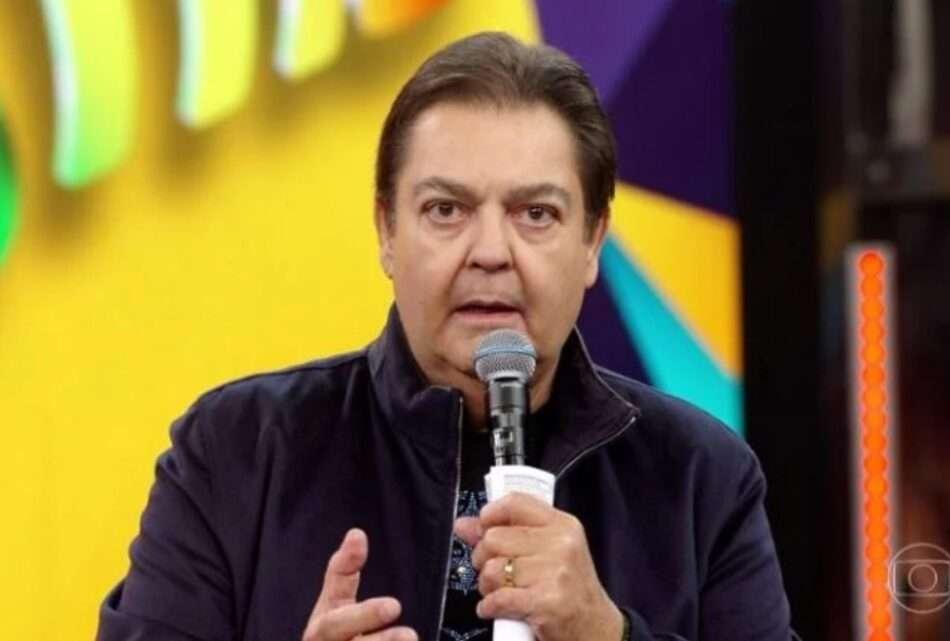 Faustão em seu programa na Globo (Foto: Reprodução / Globoplay)