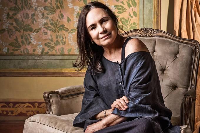 A atriz Regina Duarte (Foto: João Miguel Júnior/TV Globo)