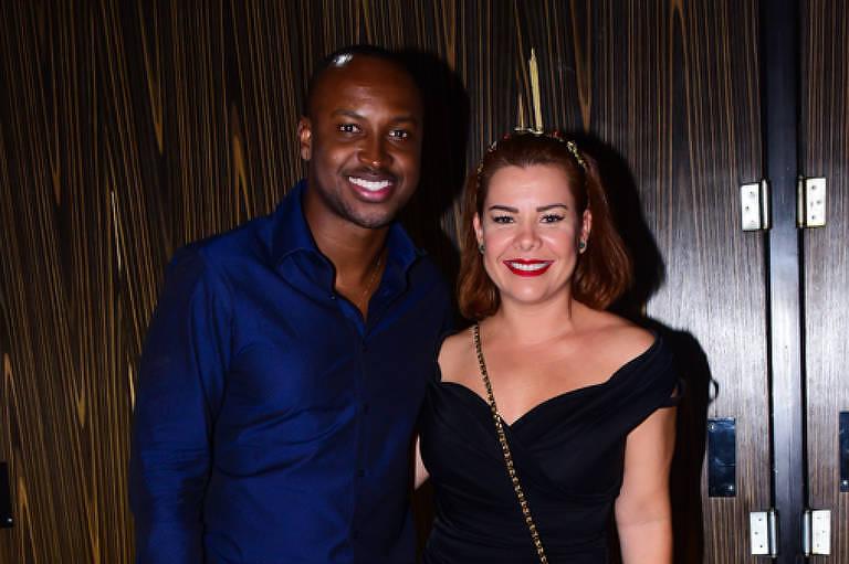 Thiaguinho e Fernanda Souza (Foto: Reprodução)